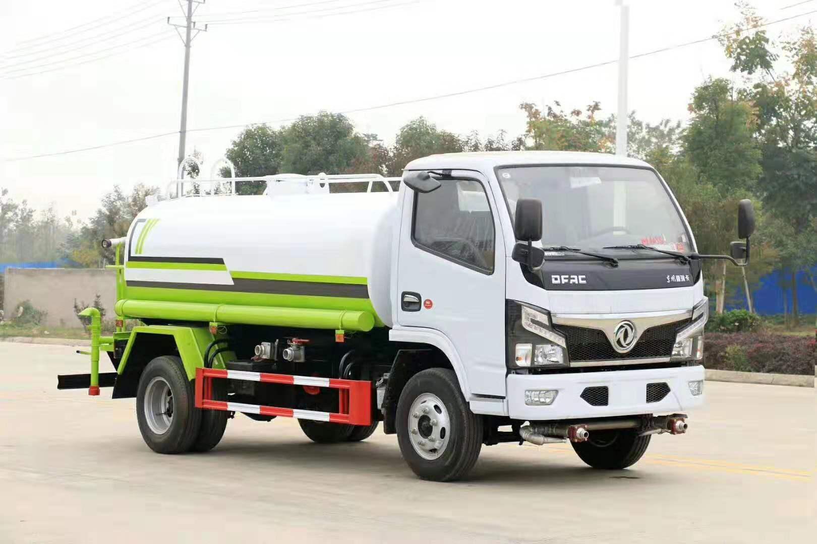 國六東風多利卡5方灑水車最暢銷的灑水車圖片