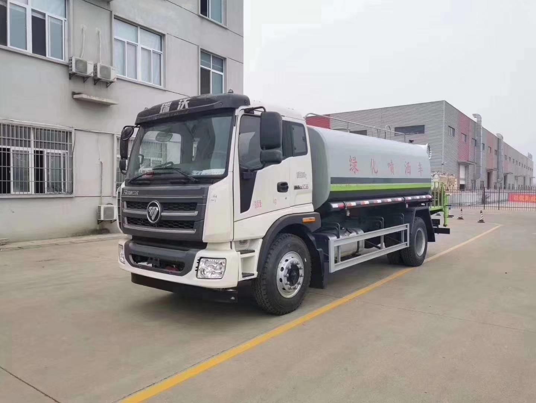 福田瑞沃15噸灑水車15噸灑水車價格圖片