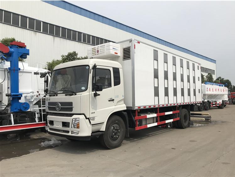 厂家供给可拉750头运猪车,处理畜禽死伤困难