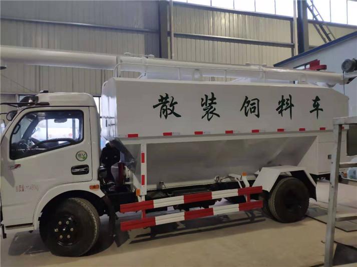 6吨散装饲料车厂家直销产品参数介绍报价