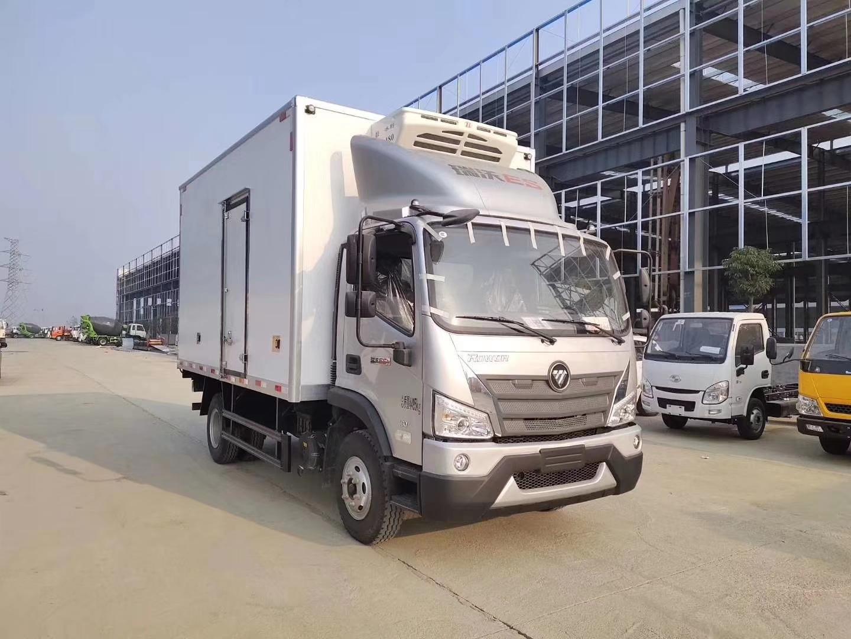 福田瑞沃4米貨箱冷藏車