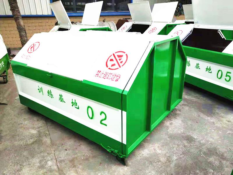 3-6方车厢可卸式垃圾车垃圾箱3方垃圾箱4方垃圾车图片