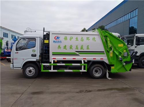程力5方壓縮垃圾車廠家直銷圖片