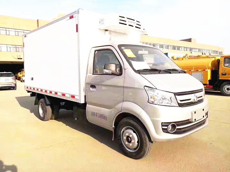 長安跨越王X5冷藏車 小身板 大容量 經濟實用!圖片