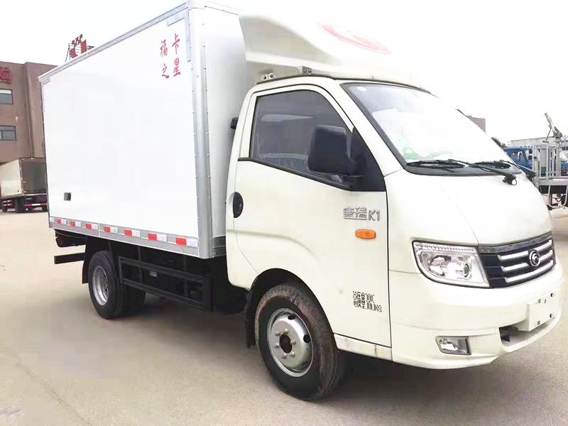 福田康瑞K1冷藏車  柴油版后雙輪多少錢廠家直銷圖片