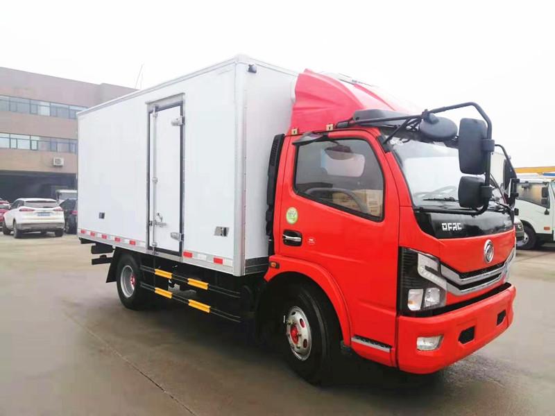 國六東風多利卡D6冷藏車報價廠家直銷圖片