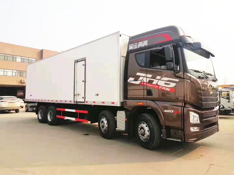 青岛解放JH6冷藏车价格厂家报价图片