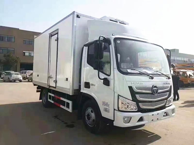 福田欧马可S3单排冷藏车价格厂家报价图片