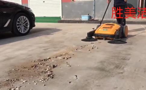 手推式小型掃路車