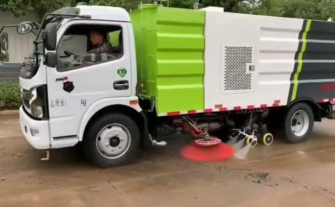 國六東風D7多利卡洗掃車