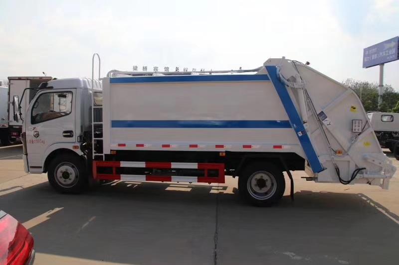 國六8方壓縮垃圾車6噸壓縮垃圾車圖片