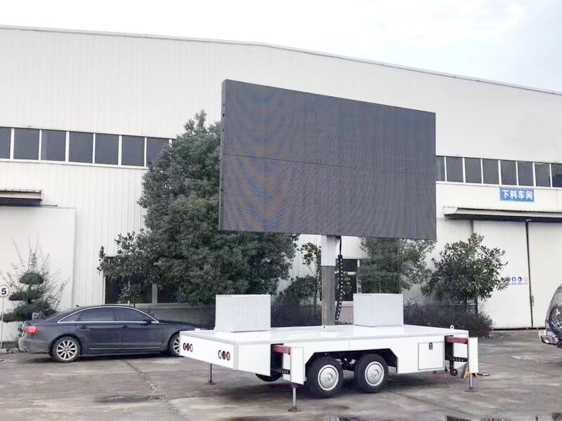 牽引式LED廣告車圖片