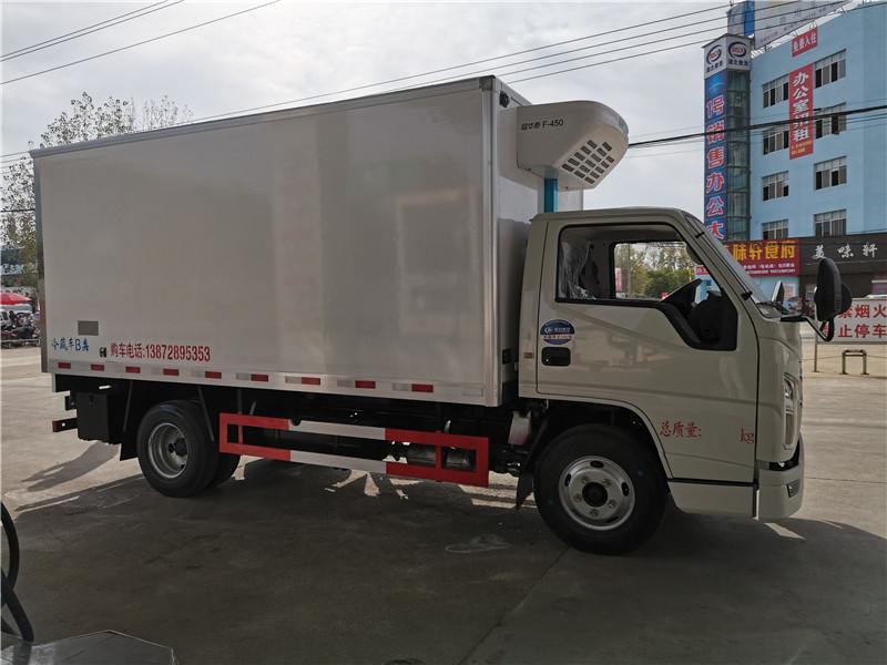 4.2米江铃顺达蓝牌冷藏车(国六)