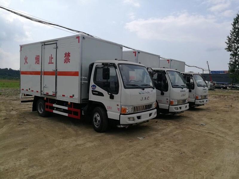 一類江淮駿鈴4米2爆破器材廂式貨車運輸車價格圖片專汽詳情頁圖片