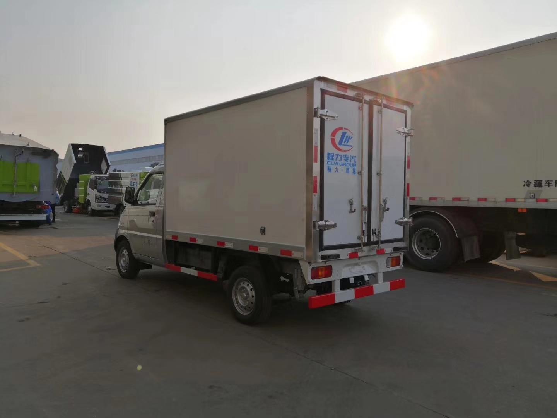 国六柳州五菱冷藏车配箱体2米5图片