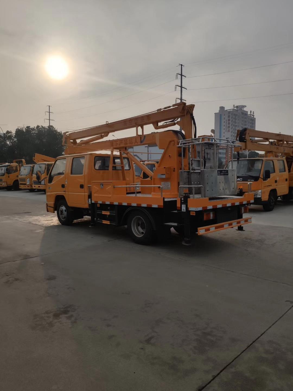 国六12米江铃双排高空作业车图片