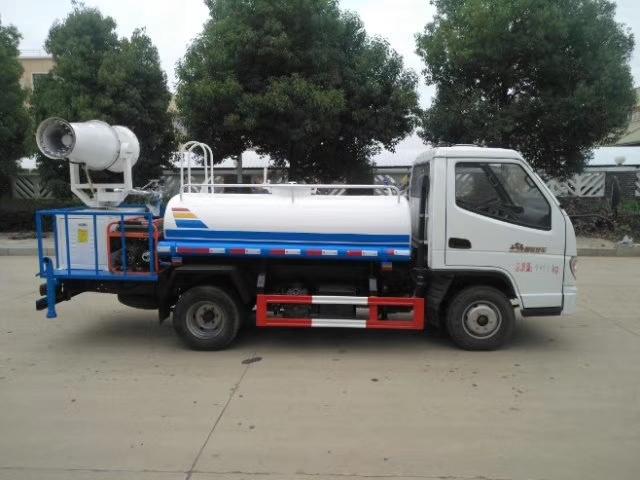 唐駿2噸灑水車藍牌灑水車價格圖片