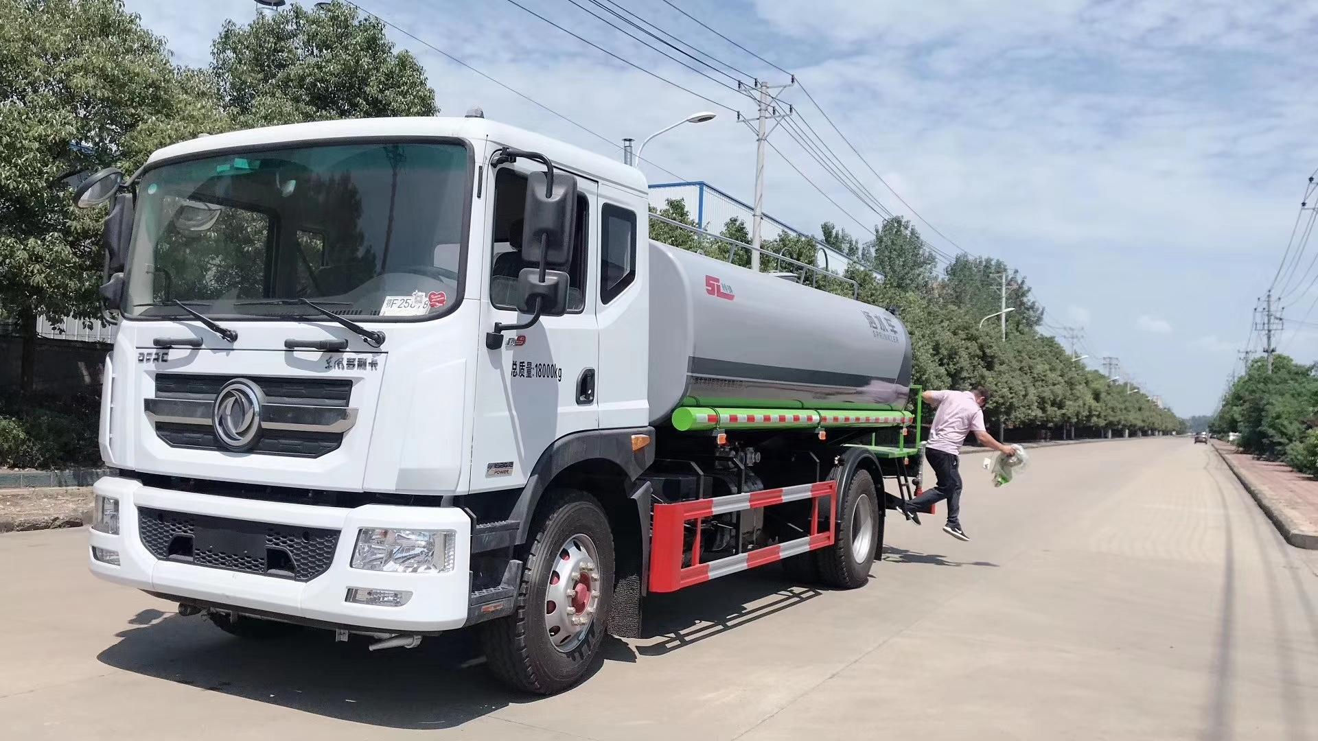 國六東風D9灑水車15噸灑水車圖片