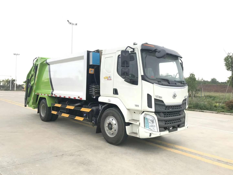 東風柳汽10噸壓縮垃圾車14方壓縮垃圾車圖片