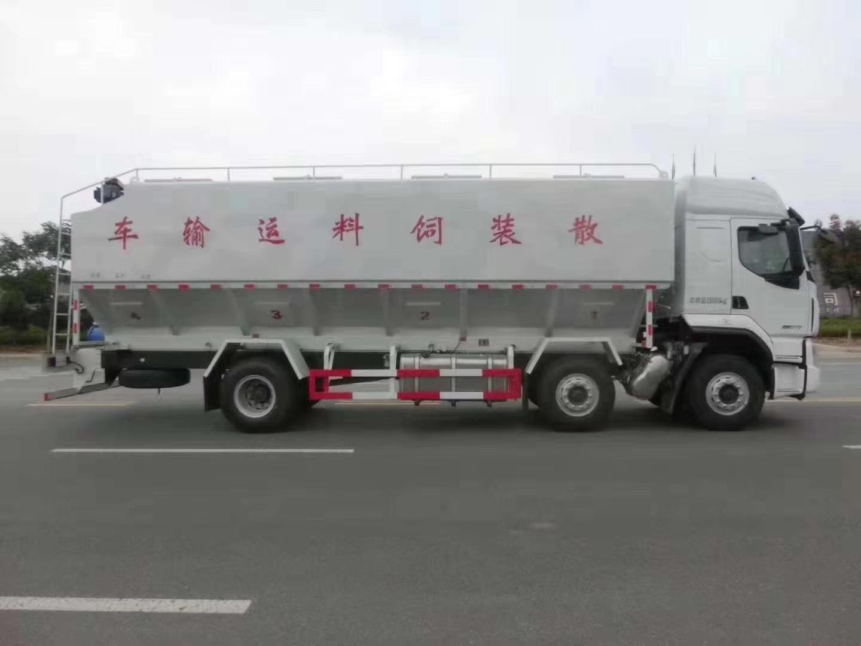 柳汽乘龍35方國六散裝飼料運輸車35方飼料車圖片專汽詳情頁圖片