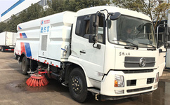 东风天锦洗扫车的特性,道路清扫车的优势图片