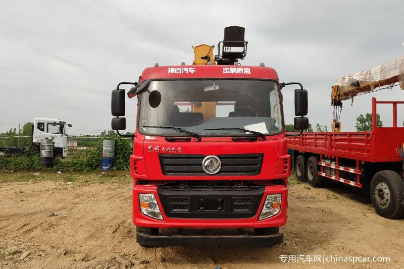 东风专用底盘徐工12吨随车吊 (2)