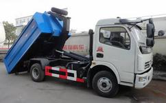 摆臂垃圾车的工作原理,垃圾车专业厂图片