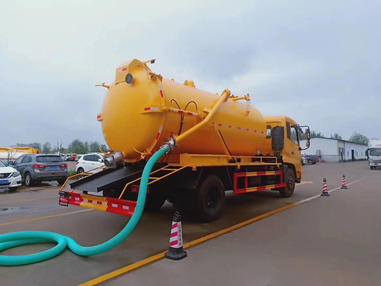 东风天锦15方吸污车15吨吸污车价格图片