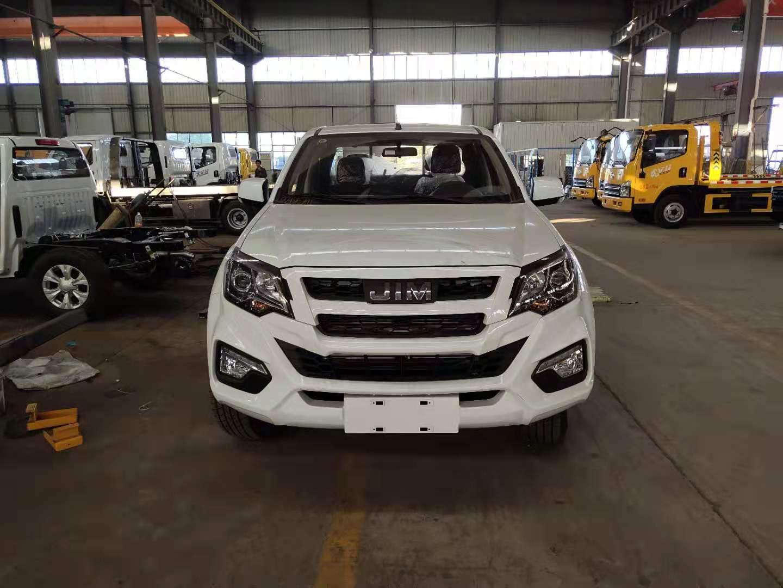 江铃皮卡拖车唯一可以代步也可救援拖车的道路清障车