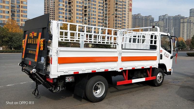 解放虎V氣瓶運輸車又叫2類易燃氣體危險品運輸車 視頻