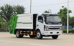 东风多利卡国六压缩垃圾车,垃圾车的优点和选购方法