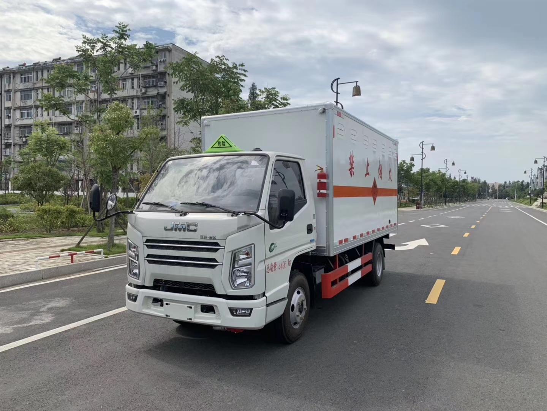 江鈴國六易燃氣體廂式運輸車圖片專汽詳情頁圖片