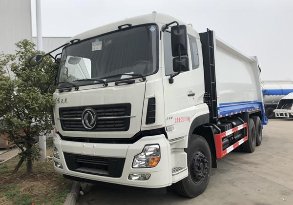 东风天龙18-20方压缩式垃圾车 (5)