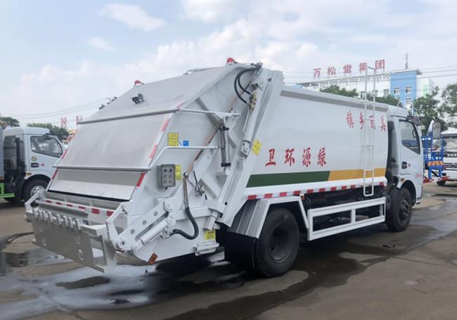 东风多利卡8方压缩垃圾车配置(图8)