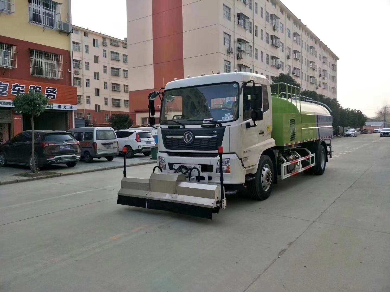天锦国六路面冲洗车路面高压清洗车图片