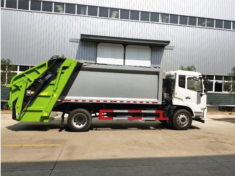 東風天錦14方壓縮垃圾車能裝多少垃圾?圖片專汽詳情頁圖片