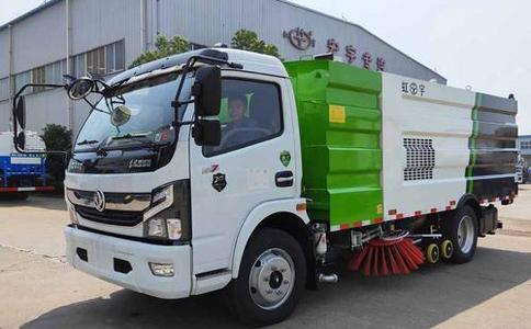 国六东风凯普特8方洗扫车