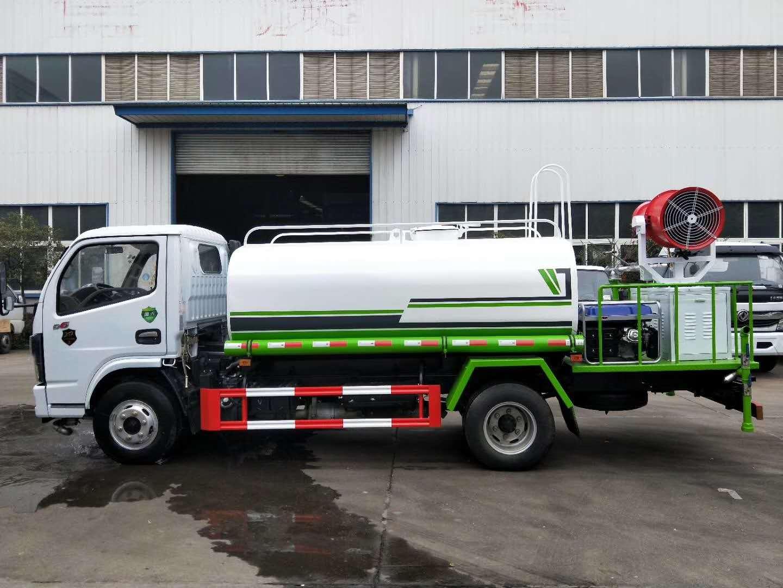国六东风多利卡D6绿化喷洒车5方洒水车