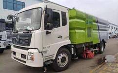 国六环卫扫路车--洗扫车东风天锦新款价格图片