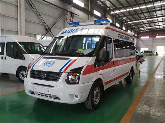 江鈴福特新全順V362自動檔救護車