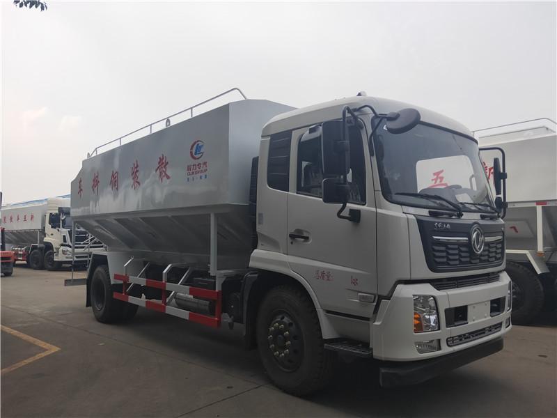 东风天锦22方(11吨)散装饲料运输车