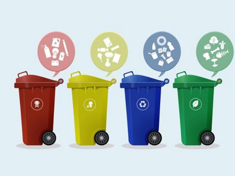 分类塑料垃圾桶很可能会变成抢手货