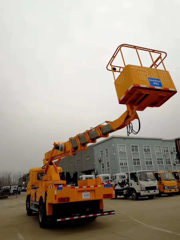 江鈴國六藍牌21米高空作業車圖片專汽詳情頁圖片