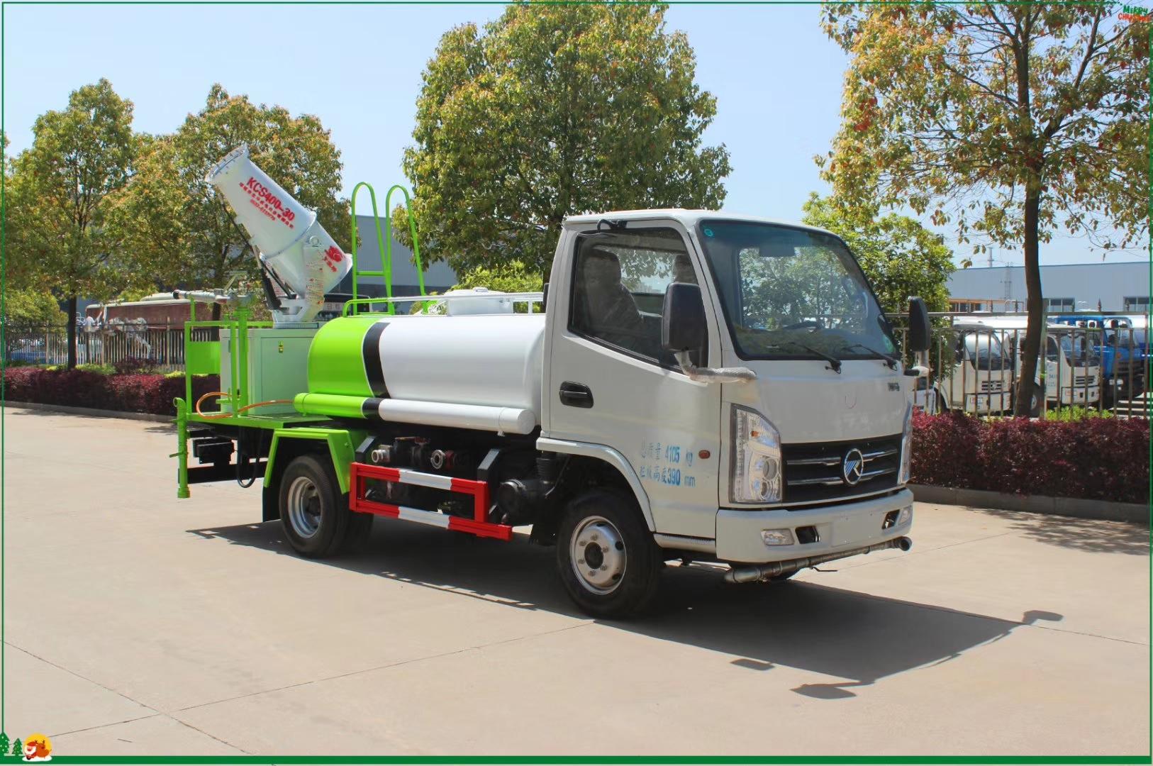凱馬藍牌2.5噸灑水車最便宜的灑水車圖片