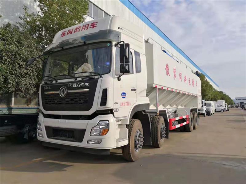 东风天龙40方(20吨)散装饲料运输车