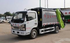 国六东风多利卡4.5方垃圾车 蓝牌压缩垃圾车价格是多少