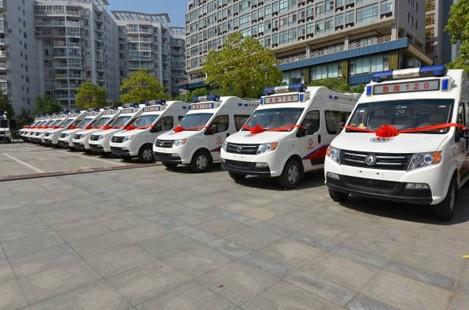 东风救护车长轴、中轴、监护型