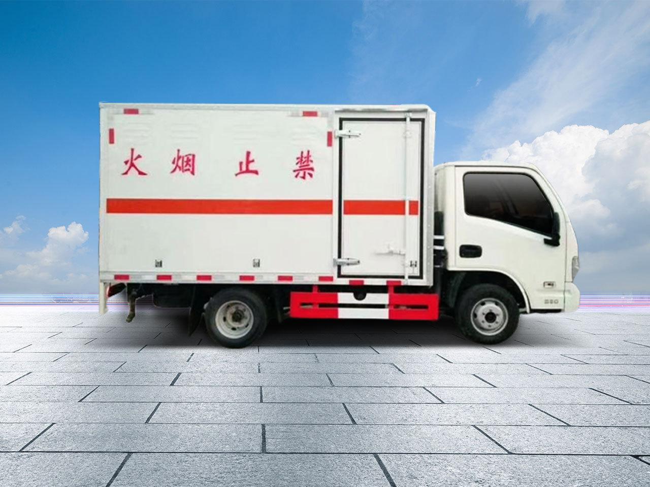 2類危險品廂式貨車