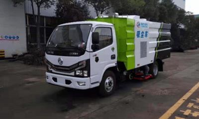 東風國六小多利卡吸塵車工作展示