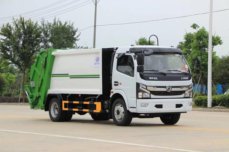 东风天锦12吨压缩式垃圾车厂家直销